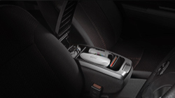 Alza Armrest with Storage Compartment
