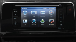 Alza New Design Multimedia System with Navigation