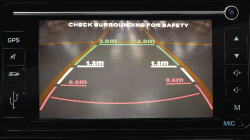 Alza Reverse Camera with Parking Guidelines