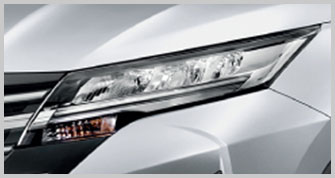 LED Headlamps with Follow-me-home Function and Light Guides