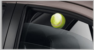 One-touch Power Window with Jam Protection